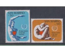 1972 - LOTTO/7937 - SAN MARINO - ANNO DEL CUORE