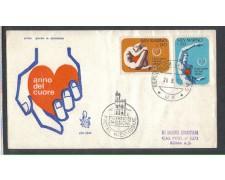 1972 - LOTTO/7937Z - SAN MARINO - ANNO DEL CUORE - FDC