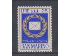 1972 - LOTTO/7938 - SAN MARINO - VETERANI DELLA FILATELIA