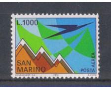 1972 - LOTTO/7939 - SAN MARINO - POSTA AEREA M.TITANO