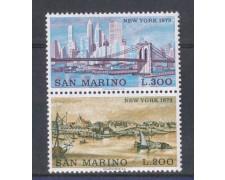1973 - LOTTO/7941 - SAN MARINO - VEDUTE DI NEW YORK