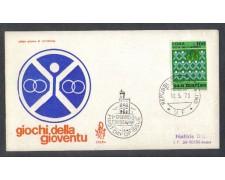 1973 - LOTTO/7943Z - SAN MARINO - GIOCHI DELLA GIOVENTU' - FDC