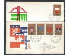 1974 - LOTTO/7952Z - SAN MARINO - TORNEO BALESTRA - FDC