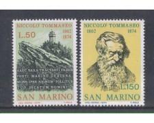 1974 - LOTTO/7955 - SAN MARINO - NICCOLO' TOMMASEO
