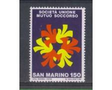 1976 - LOTTO/7969 - SAN MARINO - MUTUO SOCCORSO