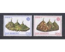 1977 - LOTTO/7974 - SAN MARINO - EUROPA 2V. - NUOVI