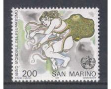 1977 - LOTTO/7980 - SAN MARINO - ANNO DEL REUMATISMO