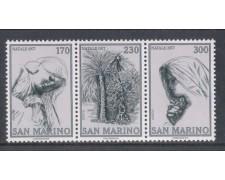 1977 - LOTTO/7982 - SAN MARINO - NATALE TRITTICO - NUOVO