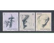 1978 - LOTTO/7988 - SAN MARINO - VIRTU' CIVILI 3v. - NUOVI