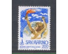 1978 - LOTTO/7990 - SAN MARINO - DIRITTI UOMO