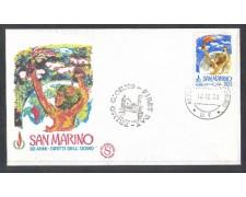 1978 - LOTTO/7990ZA - SAN MARINO - DIRITTI UOMO - FDC