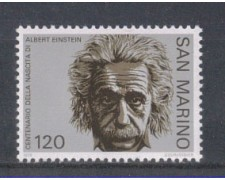1979 - LOTTO/7992 - SAN MARINO - EINSTEIN