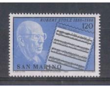 1980 - LOTTO/8008 - SAN MARINO - ROBERT STOLZ