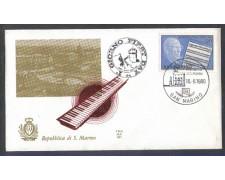 1980 - LOTTO/8008Z - SAN MARINO - ROBERT STOLZ - FDC