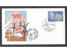 1980 - LOTTO/8008ZA - SAN MARINO - ROBERT STOLZ - FDC