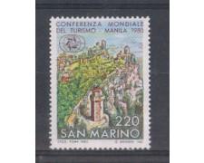 1980 - LOTTO/8010 - SAN MARINO - TURISMO