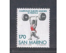1980 - LOTTO/8009 - SAN MARINO - SOLLEVAMENTO PESI