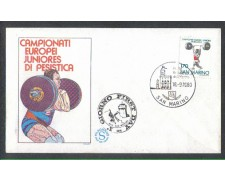 1980 - LOTTO/8009ZA - SAN MARINO - SOLLEVAMENTO PESI - FDC
