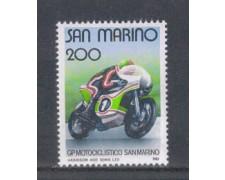 1981 - LOTTO/8015 - SAN MARINO - MOTOCICLISMO