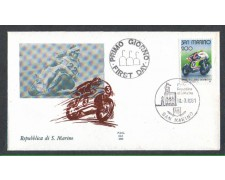 1981 - LOTTO/8015Z - SAN MARINO - MOTOCICLISMO - FDC