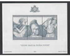 1981 - LOTTO/8016F - SAN MARINO - VIRGILIO - FOGLIETTO