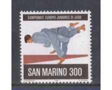 1981 - LOTTO/8017 - SAN MARINO - JUDO