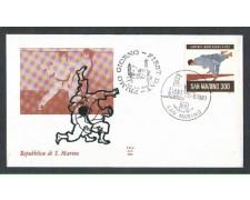 1981 - LOTTO/8017Z - SAN MARINO - JUDO - FDC