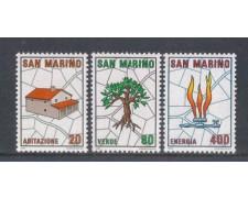 1981 - LOTTO/8018 - SAN MARINO - PIANO REGOLATORE