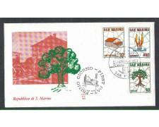 1981 - LOTTO/8018Z - SAN MARINO - PIANO REGOLATORE - FDC