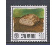 1981 - LOTTO/8020 - SAN MARINO - ALIMENTAZIONE