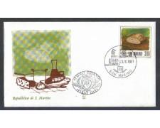 1981 - LOTTO/8020Z - SAN MARINO - ALIMENTAZIONE - FDC