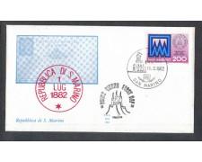 1982 - LOTTO/8023Z - SAN MARINO - INTERI POSTALI - FDC