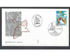 1982 - LOTTO/8027Z - SAN MARINO - SAN FRANCESCO - FDC