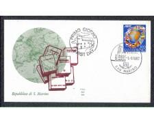 1982 - LOTTO/8029Z - SAN MARINO - ASCAT - FDC