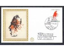 1982 - LOTTO/8030ZA - SAN MARINO - AMNESTY INTERNATIONAL - FDC