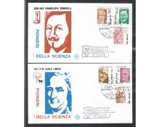 1983 - LOTTO/8033ZA - SAN MARINO - SCIENZIATI - FDC