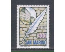 1983 - LOTTO/8034 - SAN MARINO - LICEO DI STATO