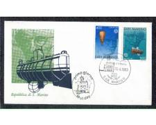 1983 - LOTTO/8035Z - SAN MARINO - EUROPA - FDC