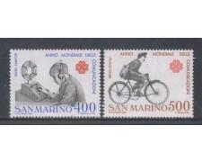 1983 - LOTTO/8036 - SAN MARINO - ANNO DELLE COMUNICAZIONI 2V. - NUOVI