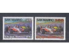 1983 - LOTTO/8037 - SAN MARINO - GRAN PREMIO 2v. - NUOVI