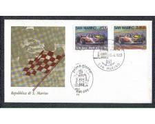 1983 - LOTTO/8037Z - SAN MARINO - GRAN PREMIO - FDC