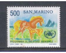 1983 - LOTTO/8040 - SAN MARINO - PROGRAMMA ALIMENTARE