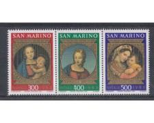 1983 - LOTTO/8041 - SAN MARINO - NATALE TRITTICO - NUOVI