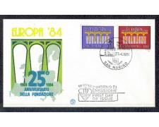 1984 - LOTTO/8043Z - SAN MARINO - EUROPA - FDC