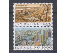 1984 - LOTTO/8047 - SAN MARINO - AUSIPEX 84  2v. NUOVI