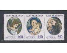 1984 - LOTTO/8050 - SAN MARINO - NATALE TRITTICO - NUOVO