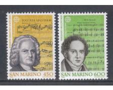 1985 - LOTTO/8051 - SAN MARINO - EUROPA 2v. - NUOVI