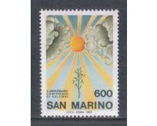 1985 - LOTTO/8055 - SAN MARINO - CONFERENZA DI HELSINKI