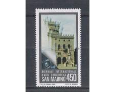 1985 - LOTTO/8056 - SAN MARINO - CONGRESSO F.I.A.P. - NUOVO
