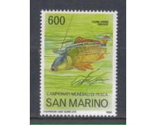 1985 - LOTTO/8058  - SAN MARINO - CAMPIONATI DI PESCA - NUOVO